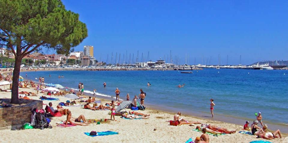 Rentrer de la plage en taxi saint tropez azur elegance taxi - Plage de saint tropez ...